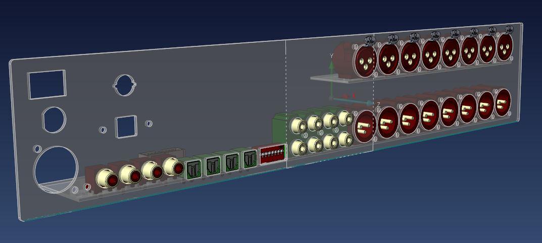 Klicke auf die Grafik für eine größere Ansicht  Name:Rear-Panel-B+Powercon.JPG Hits:830 Größe:60,1 KB ID:54177