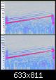 Klicke auf die Grafik für eine größere Ansicht  Name:210327 Audacity Spectrogramm 20-150Hz 12db leiser BR oben, Membran unten.PNG Hits:15 Größe:505,6 KB ID:60009