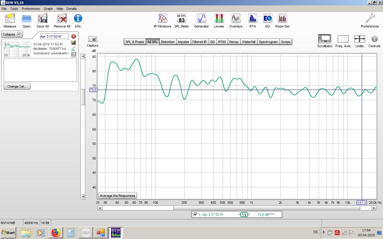 Klicke auf die Grafik für eine größere Ansicht  Name:Messung nach 1 DSP Einstellung.jpg Hits:299 Größe:195,1 KB ID:48515